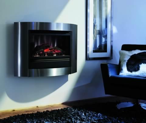 wandkamine elektrisch elektrokamine. Black Bedroom Furniture Sets. Home Design Ideas